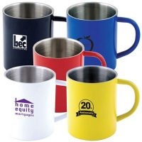 3504-Colored Stainless Steel Mug