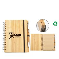 3902-ECO Bamboo Notebook