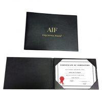 5601-Certificate Holder
