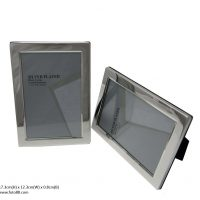 2603-4R Silver Plated Photoframe