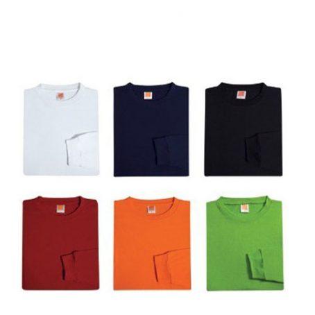 0208 Unisex Cotton Long Sleeve