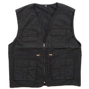 0504-Custom Black Vest