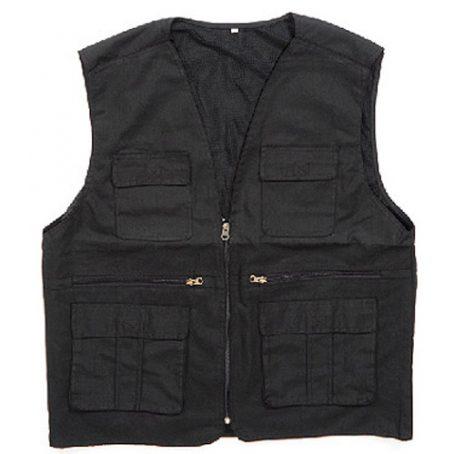 0504 Custom Black Vest