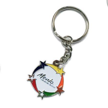 0703 Enamel Keychain
