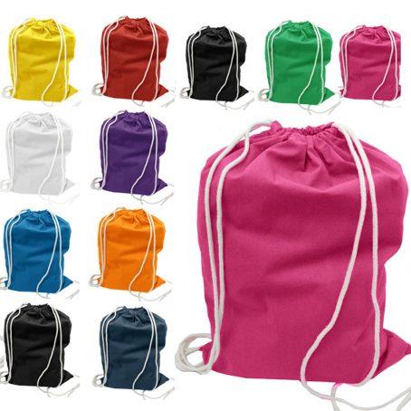 1105 Cotton Drawstring Bag