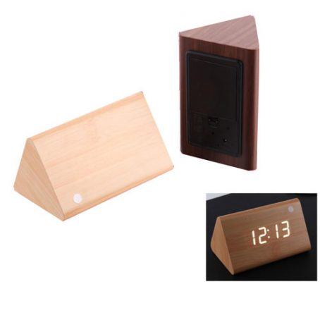 2407 Wooden Clock