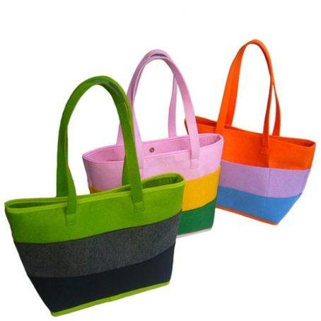 3806 Colorful Felt Bag
