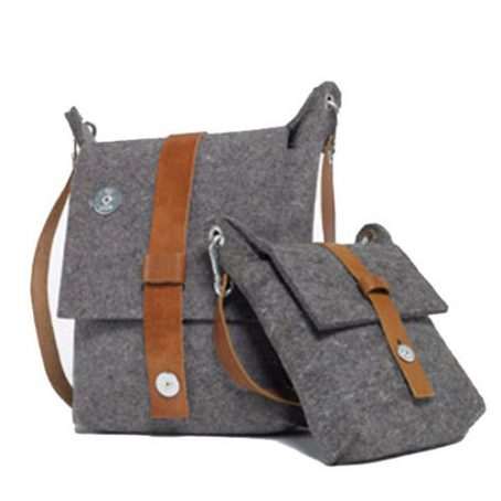 3808 Felt Shoulder Bag