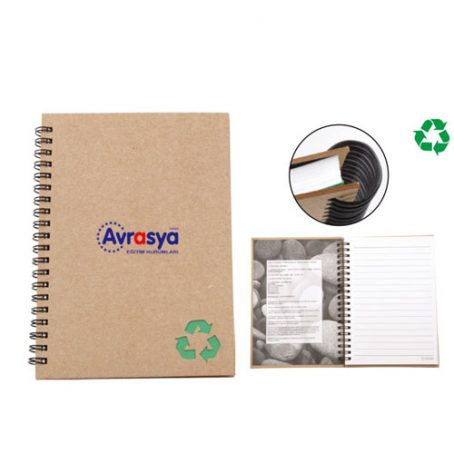 3907 Recycled Stone Paper Notebook