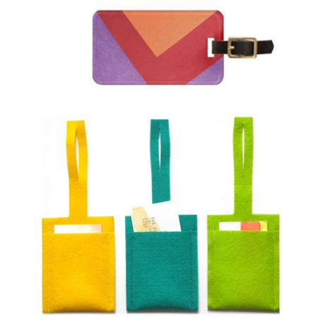 4108 Felt Luggage Tag