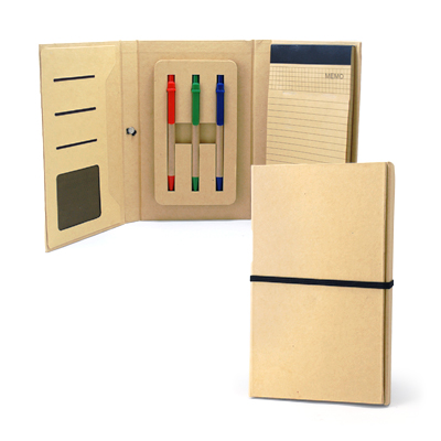 Corporate Gift - Notepad w Ballpen