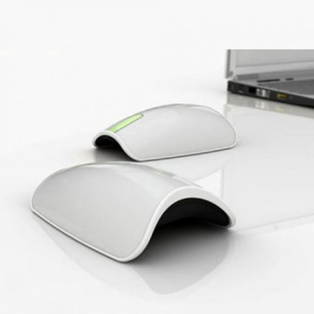 4408 Arc Mouse White