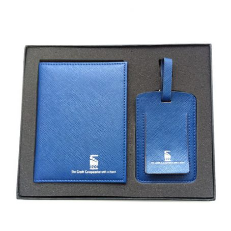 5003 Passport Holder Luggage Tag Set