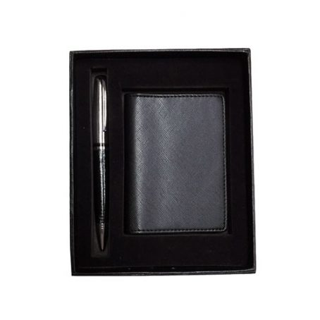 5008 Pen and PU Card Holder Set