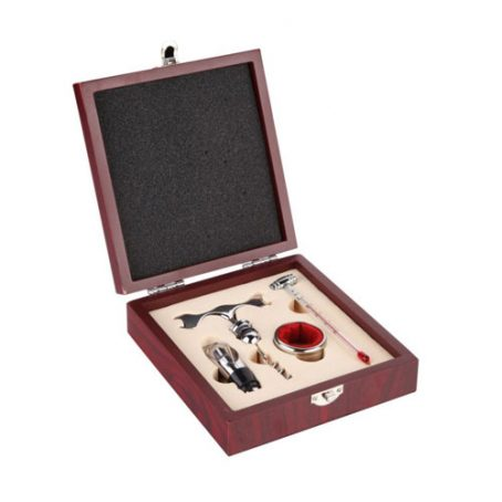 5021 Wine Set in Wood Box