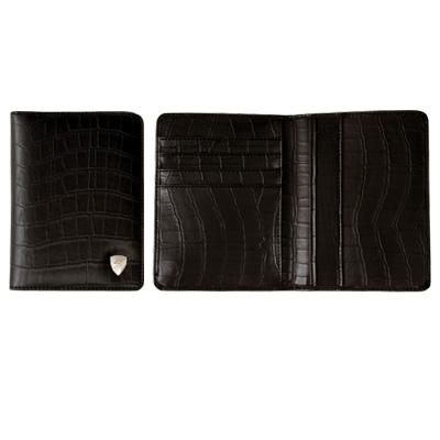5403 Lamborghini Coco Leather Passport Holder