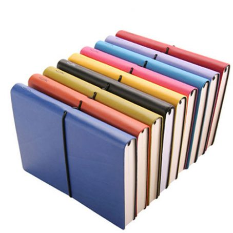 5903 A5 Soft Leather Notebook