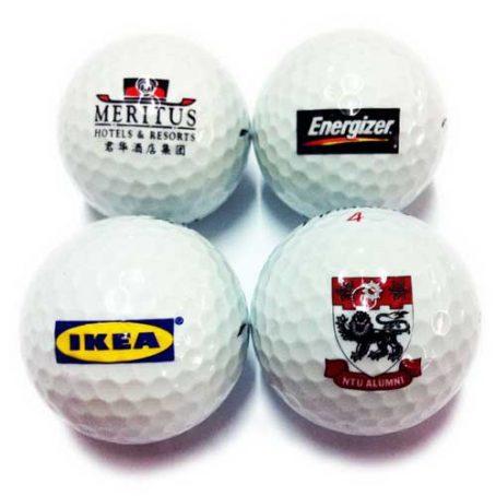 7101-Logo Golf Balls