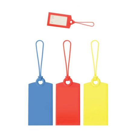 7809 Silicone Luggage Tag
