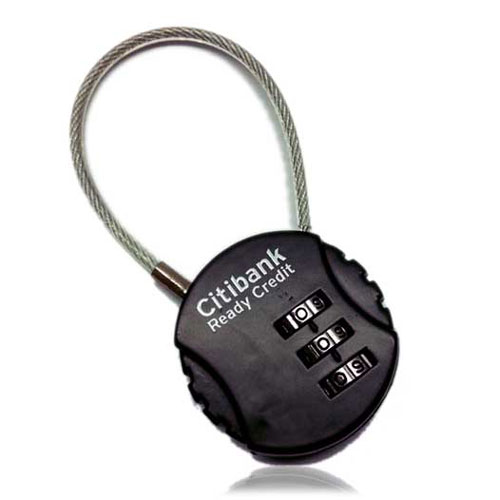 7901 round number lock business gifts singapore