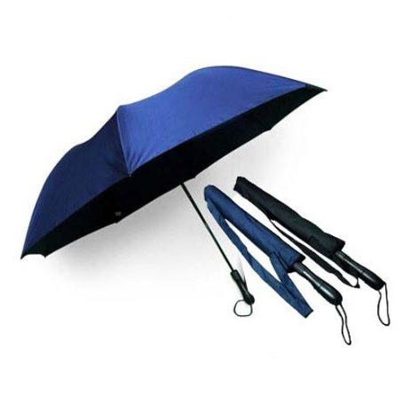 8209 28 Inch 2 Fold Windproof Umbrella