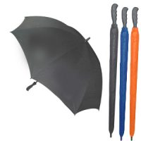 8401-30 Inch Non UV Rubber Grip Golf Umbrella