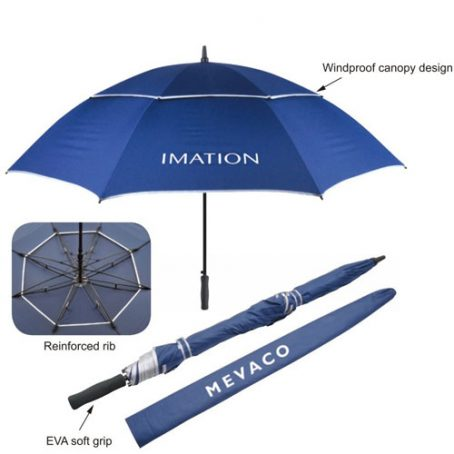8406 Couple Anti Wind Umbrella