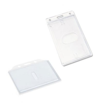 Hard Acrylic Cheap Pass Holder