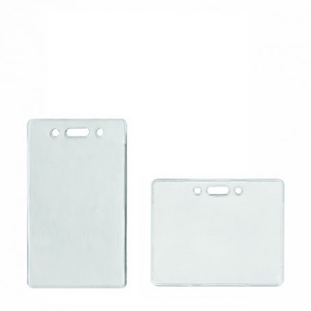 Soft Clear PLastic Pass Holder