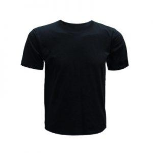 0207-Round Neck T-Shirt (Black)