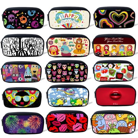 7303 Custom Design Pencil Case